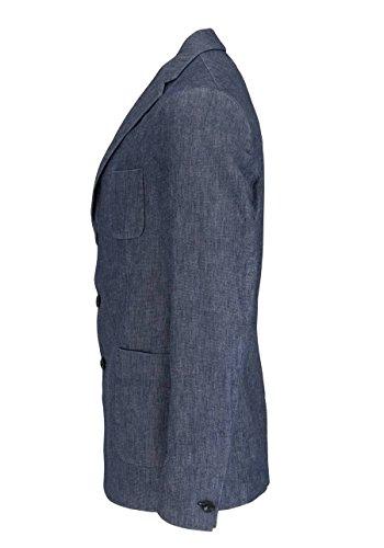 DRYKORN Langarm Sakko BURLEY Reverskragen Struktur nachtblau
