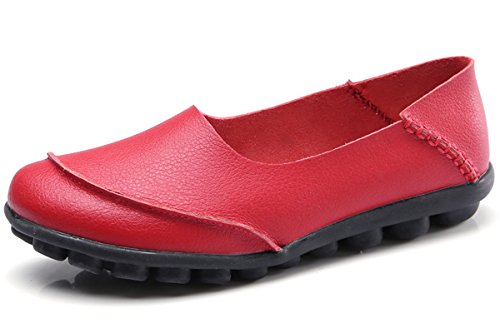 Flat Loafers for Women Shoes Size 8.5 Red Boat Athletic Shoes