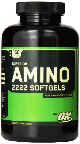 Optimum Nutrition Superior Amino 2222, 150 Softgels