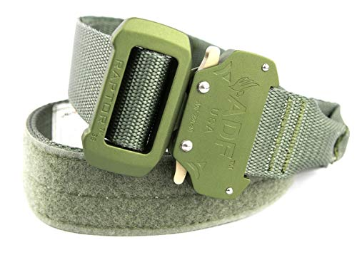 Fusion Tactical Military Police Riggers Belt Foliage Green X