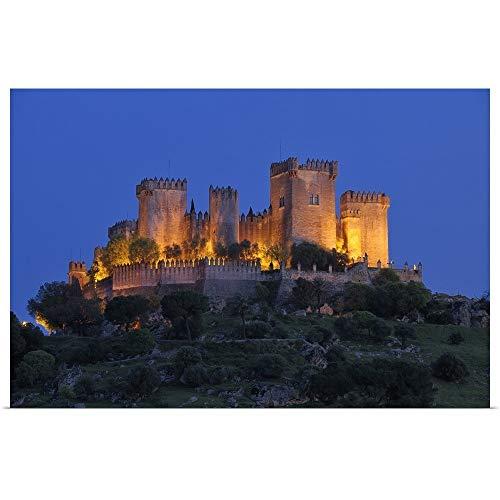 (GREATBIGCANVAS Poster Print Entitled Castle of Almodovar del Rio, Almodovar del Rio, Cordoba Province, Andalusia, Spain by 18