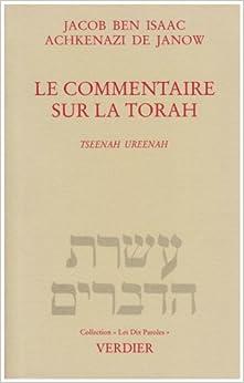Book Le Commentaire sur la Torah