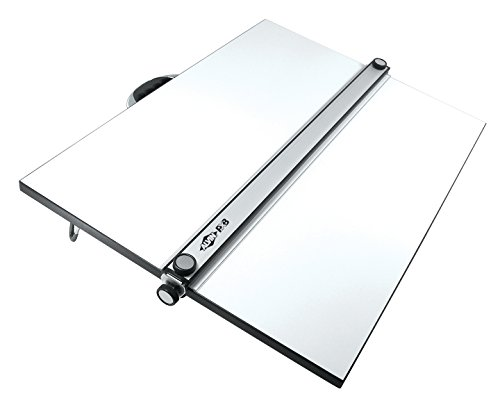 drafting table with parallel bar - 1