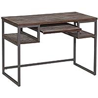 Home Styles 5053-16 Barnside Metro Student Desk, Gray Finish