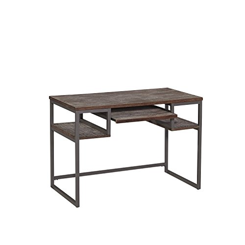 Home Styles 5053-16 Barnside Metro Student Desk, Gray Finish