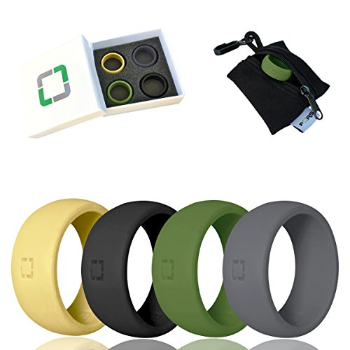 FORS Silicone Wedding Rings Individual