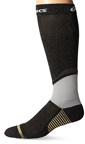 ASICS Rally Knee High Socks, Black, Medium