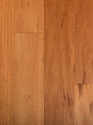 Tigerwood Exotic Wood Flooring | Durable, Strong Wear Layer | Engineered Hardwood | Floor SAMPLE by GoHaus