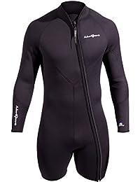 NeoSport Men's Premium Neoprene 3mm Waterman Wetsuit Jacket