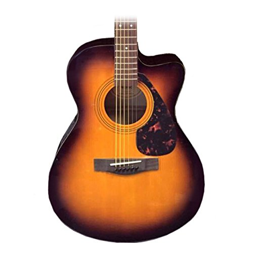 Yamaha F Series FSX315C Concert Cutaway Acoustic-Electric Guitar - Guitar Cutaway Electric Acoustic Concert