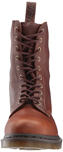 Dr. Martens 1490 Tan Oogst Leer Mode Boot Tan