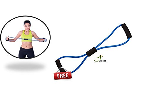 Pull Up and Resistance Fitness Bands 3 Piece Set w/ Carry Bag FREE Resistance Band and Salad Recipes Perfect for Workout or Exercises Crossfit P90X Pilates Targets Legs Arms Back Shoulders