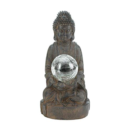 Light Up Garden Buddha