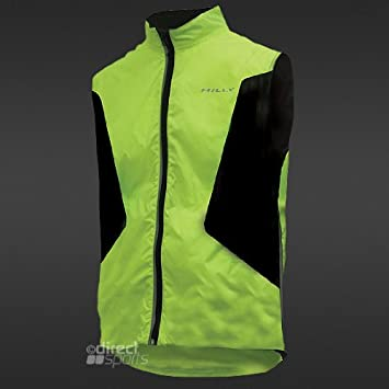 J2X Fitness Hi Viz Running Gloves High Visibility Yellow