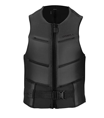 Outlaw Vest - O'Neill Mens Outlaw Comp Vest, Black/Black, Medium