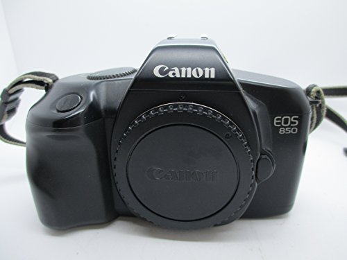 - Classic Canon EOS 850 Electric SLR 35mm film camera Body only.