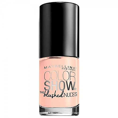 Maybelline New York Color Show the Blush Nudes Nail Lacquer, in The Blush, 0.23 Fluid Ounce (Maybelline Nail Enamel)