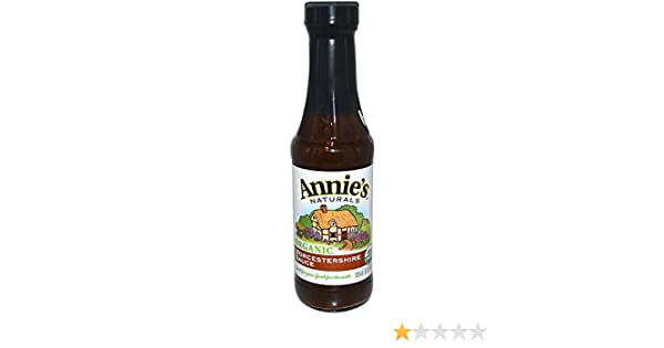 Amazon.com: Annies Naturals, Organic, Worcestershire Sauce, 6.25 fl oz (185 ml)(Pack of 4): Beauty