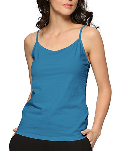 GYS Womens Essential Adjustable Camisole Tank Top (M,Prussian ()