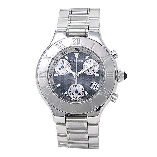 - Cartier Must 21 Analog-Quartz Male Watch W10172T2 (Certified Pre-Owned)