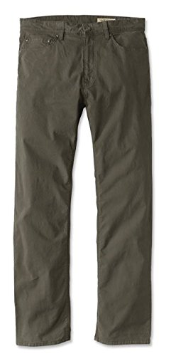 Orvis Men's 5-Pocket Stretch Twill Pants, Olive, 36, Inseam: 32 inch - Blended Twill Pants