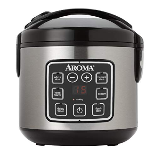 Learn More About Aroma Housewares ARC-914SBD 2-8-Cups (Cooked) Digital Cool-Touch Rice Cooker and Fo...