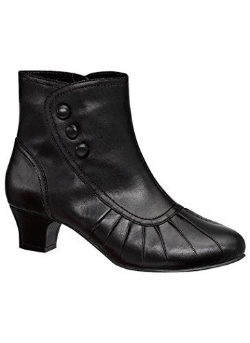Angel Flex Women's Adult Kayla 12 Wide US (Granny Boots For Women)