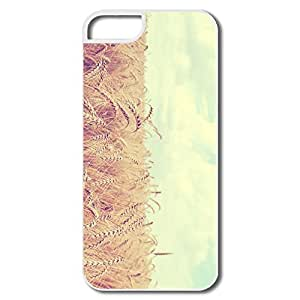 IPhone 5 5S Cases, Golden Wheat Harvest White Protector For IPhone 5S