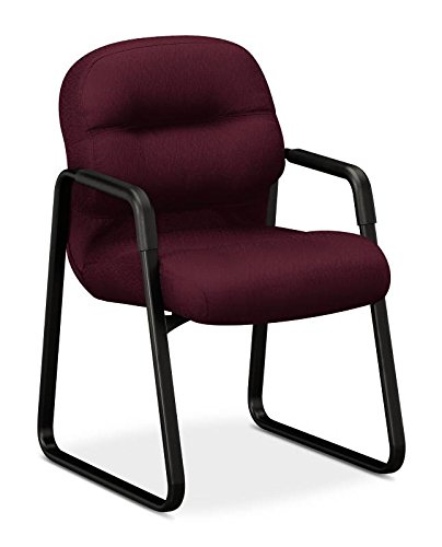 HON Pillow-Soft Guest Chair, Wine NT69 by HON