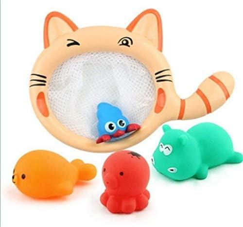 XuBa - Juego de red de pescado para niños, diseño de gato, multicolor Set 2: Amazon.es: Hogar