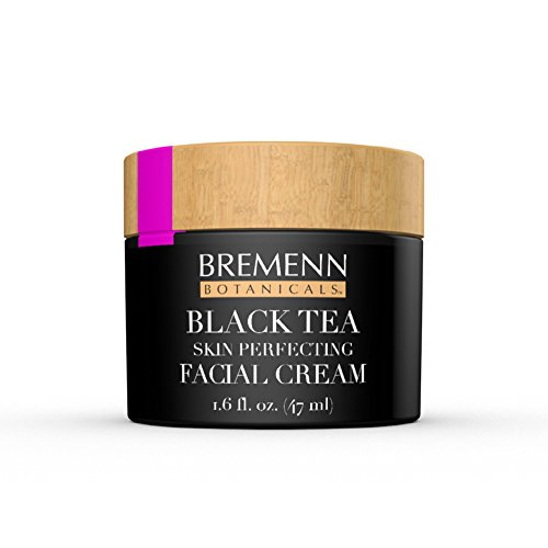 Skin Perfecting Anti Aging Cream - Black Tea Skin Perfecting Facial Cream - Proprietary Topical Cream Made With Black Tea Extract for Anti-Aging, Anti-Wrinkles, Stronger, Firmer, Healthier Skin (1.6 fl. oz.)