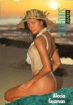 Alecia Guzman trading card (Swimsuit Model) 1994 Portfolio