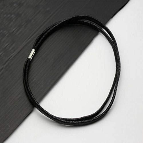 Korean For Band Lady Elastic Jewelry Women Head Headband Hairband Hair (color - black)