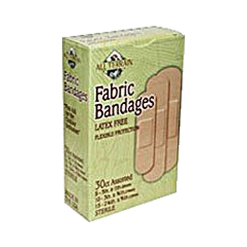 All Terrain, Fabric Bandages Assorted 30 Bandages