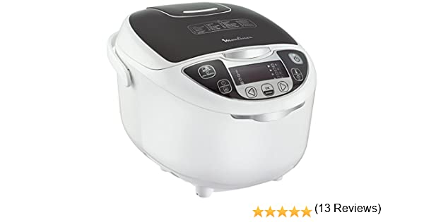 Moulinex mk708e10 multicuiseur 15 en 1 color blanco: Amazon.es: Hogar