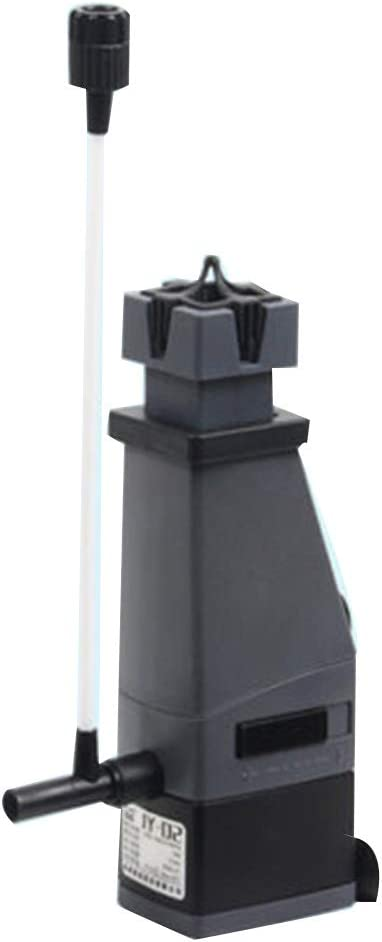 LIQIA Filtro de pecera Procesador de película de Aceite Mini Mudo Tres en uno Negro Oxigenación Bomba de Filtro (Color : 2PCS, Size : 300L/H): Amazon.es: Hogar