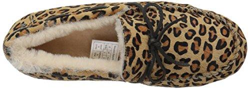 206 Kollektive Kvinders Pearson Shearling Moccasin Tøffel Leopard Kalv Hår xU3zkKnY