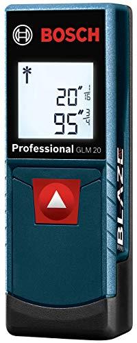 Bosch GLM 20 Compact Blaze Laser Distance Measure, - Device Measurement Laser