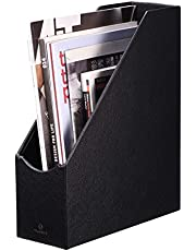 VPACK Magazine File Holder Organizer - Office Desk Organizer Collection for Files, Magazines, Books, Papers, Letters and Other documents