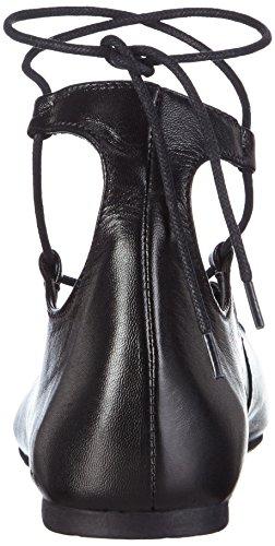Marco Tozzi Premio 22131 - Bailarinas Mujer Negro - Schwarz (BLACK NAPPA 022)