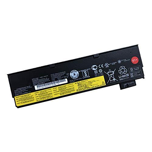 JIAZIJIA Compatible Laptop Battery with Lenovo 01AV425 [10.8V 48Wh 4400mAh 6-Cell] ThinkPad T470 T570 P51S P52S Series Notebook 61+ 01AV491 SB10K97582 SB10K97583-1 Year Warranty