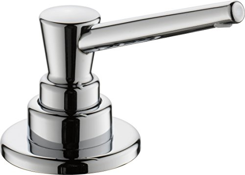 Delta Faucet RP1001 Soap/Lotion Dispenser with 13oz bottle with funnel, Chrome