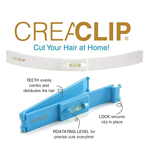 Original CreaClip Set - As seen on Shark Tank - Professional Hair Cutting Tool