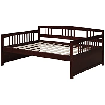 Amazon Com Dorel Living Kayden Daybed Solid Wood Twin
