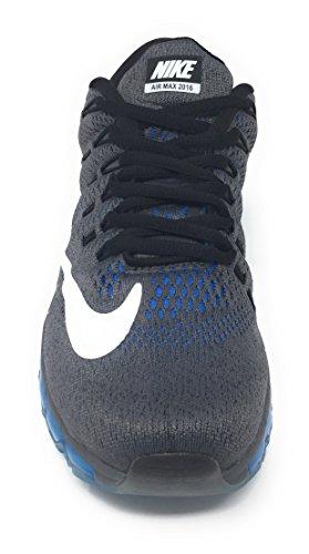 Nike Herren Air Max 2016 Low-Top Gris (Gris (Dark Grey/White-Photo Blue-Blk))