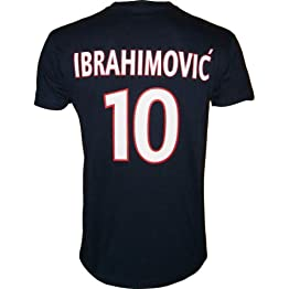 T-shirt - Zlatan IBRAHIMOVIC - N°10 - Collection officielle - PARIS SAINT GERMAIN - PSG - Football club Ligue 1 - Tee shirt enfant