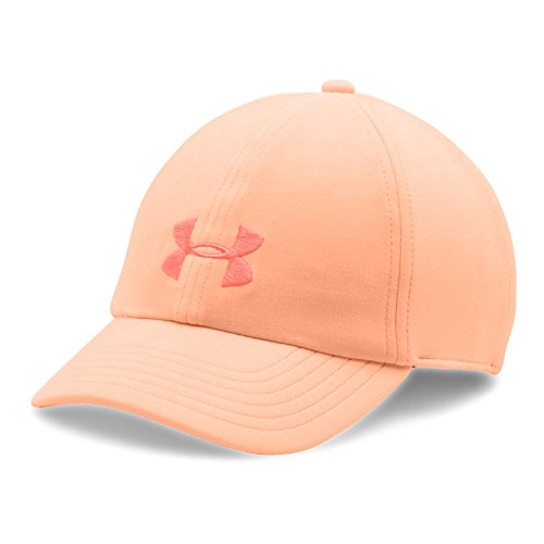 Under Armour Women's Twisted Renegade Cap, Playful Peach (164)/London Orange, One Size Fits All