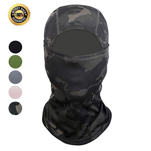 Face Protection Mask - Balaclava Face Mask Cycling Ski for Men and Women Sun Hood Tactical Masks Suitable for Outdoor Sports Motorcycle Fishing (Colorful, Adult)