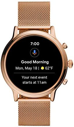 Fossil Gen 5 Julianna Stainless Steel Touchscreen Smartwatch with Speaker, Heart Rate, GPS, NFC, and Smartphone Notifications 416kMyx97pL
