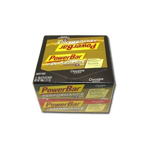 PowerBar Performance Variety Pack - 24 Bars. 12 Chocolate 12 Peanut Butter. (65g each)